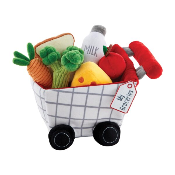 My First Groceries Plush Set