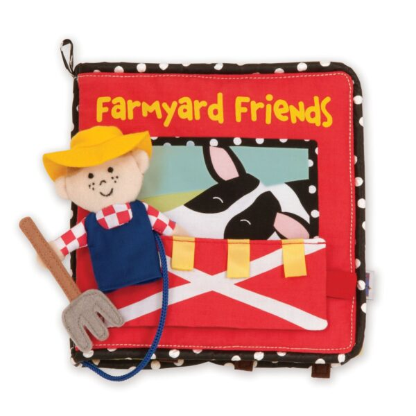 Farmyard Friends Plush Book