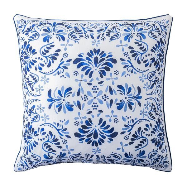 Iberian Journey Indigo Pillow