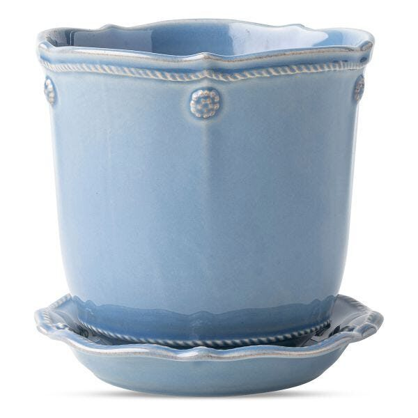 Berry & Thread Chambray 5.25″ Planter
