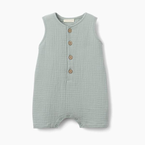 Elegant Baby Juniper Muslin Shortall