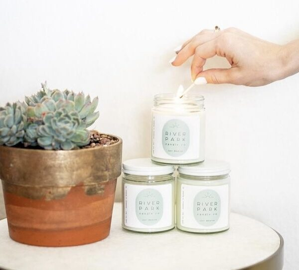 River Park Just Breathe Candle