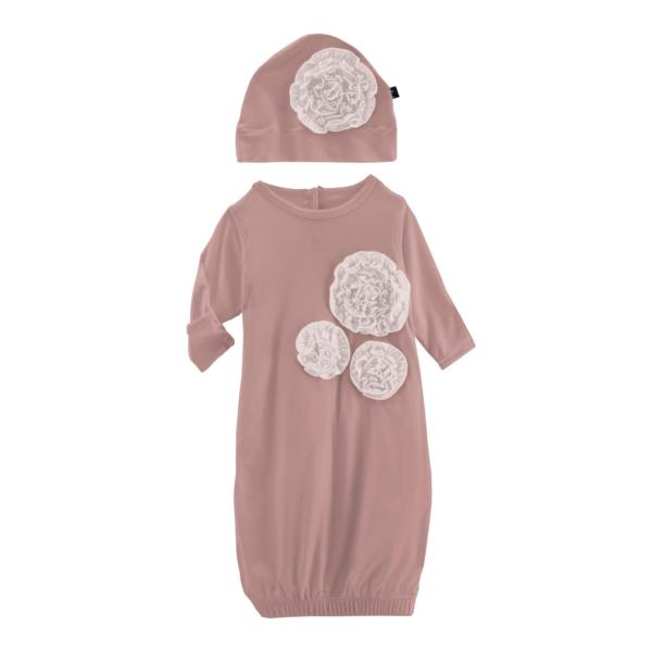 Dahlia Flower Gown W/Flower