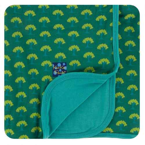 Kickee Pants Ivy Mini Trees Swaddle