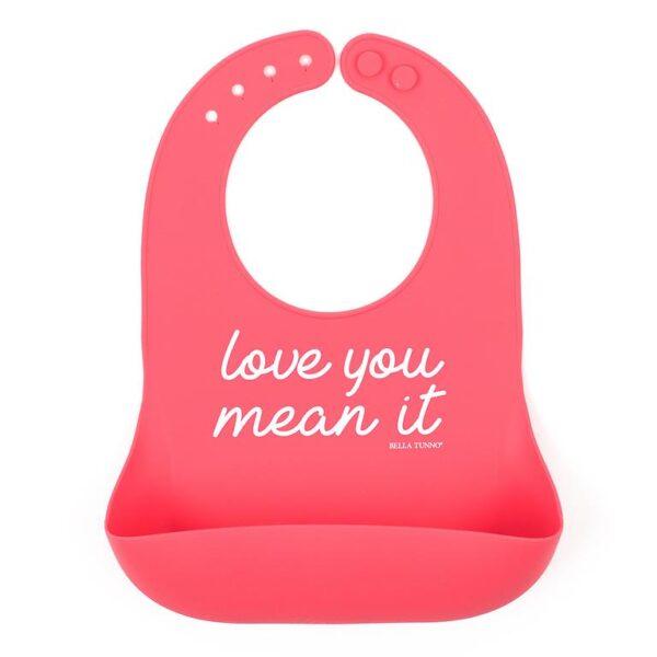 Love You Mean It Wonder Bib