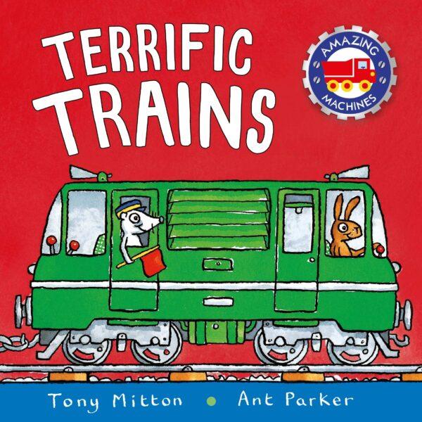 Terrific Trains Book