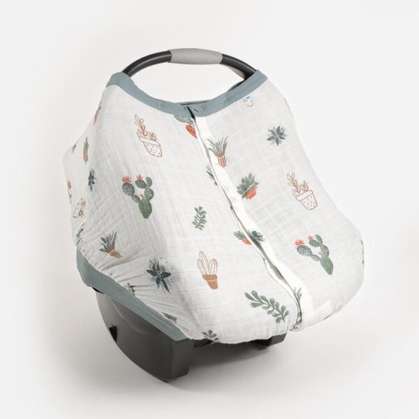 Little Unicorn Prickle Pots Carseat Canopy