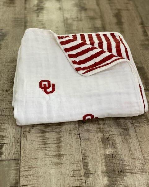 University Of Oklahoma Blanket